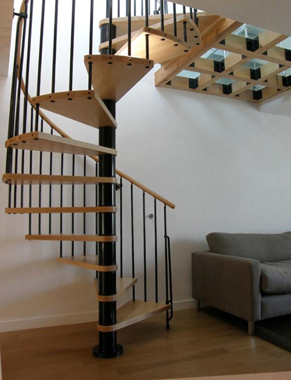 Indoor Spiral Stairway Phoenix Spiral Staircase