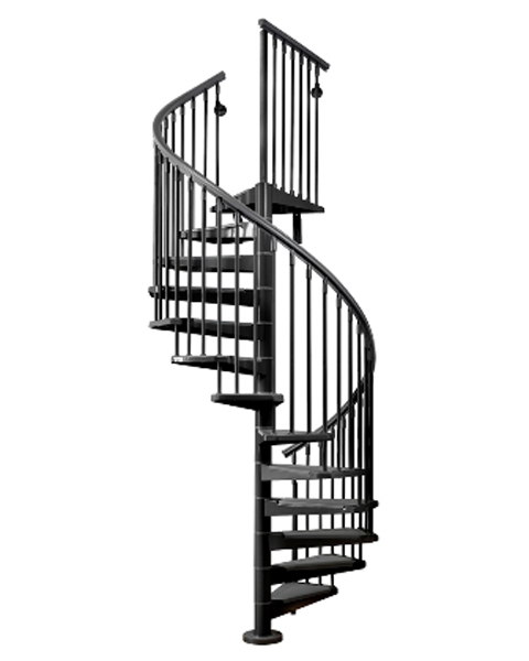 Outdoor Stairs Eureka Steel Circular Staircase Modular Stairs