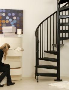 Civik Interior Spiral Stairkit Black