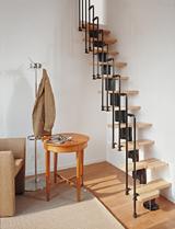 Spiral stairway diy stair kits modular stairs canada loft staircase solutioingenieria Gallery