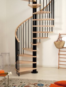 PHOENIX Spiral Staircase Kit Black